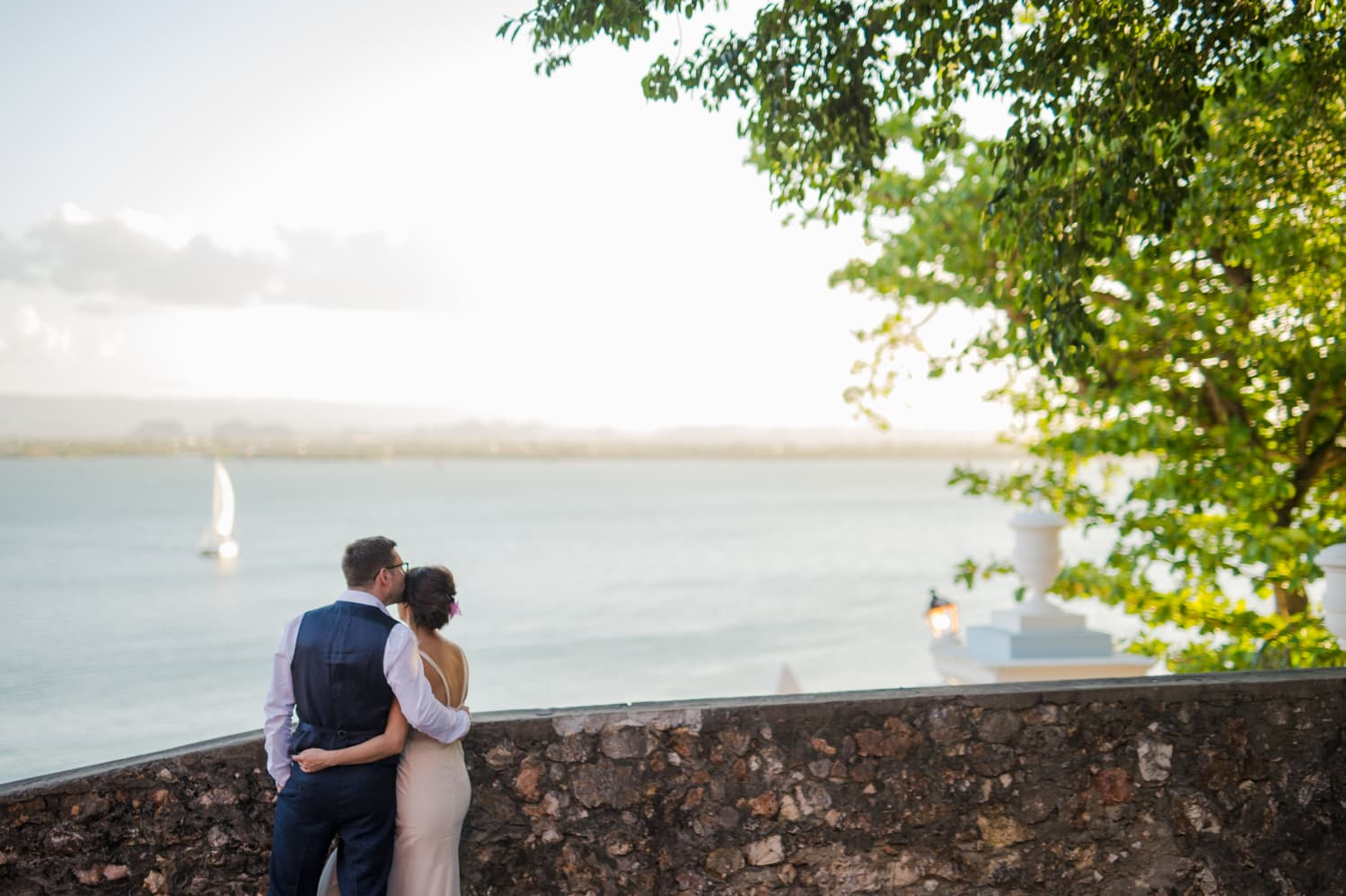 Old San Juan elopement photography by Puerto Rico wedding photographer Camille Fontanez